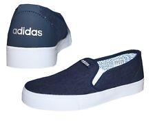 Adidas Neo Park ST Slipon Damen Sneaker Canvas Freizeitschuhe blau 36 2/3 - 36,5