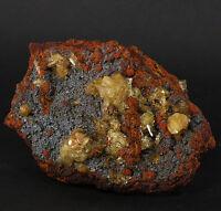 Adamite Crystals Ojuela Mine, Mapimi, Mexico (EA7494)