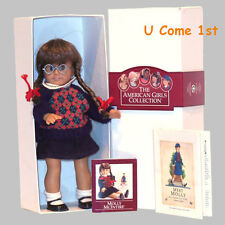 Mini Molly Doll~Glass Eyes! Pleasant Company~American Girl! Hard To Find Glasses