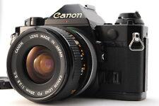 【Near Mint】Canon AE-1 Program+FD 28mm F2.8 S.C SLR Film Camera From Japan A308