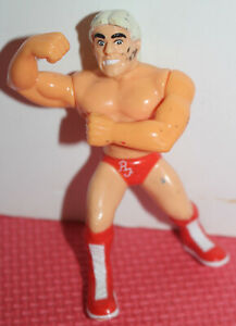 WWE USED Ric Flair Hasbro Action Figure Wrestling Series 6 WCW WWF