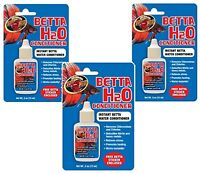 Zoo Med Betta H2o Water Conditioner .5oz (3 Pack)