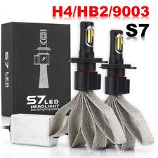 H4/HB2/9003 72W 8000LM LED Headlight Kit Fanless Bulbs Hi/Lo Beam 6000K