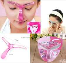 Eyebrow Template Grooming DIY Shaper Tool Shaping Stencil Kit