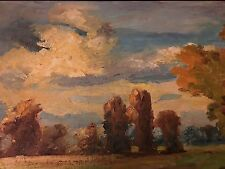 Oil On Canvas Framed Impressionist Painting By C Calothy