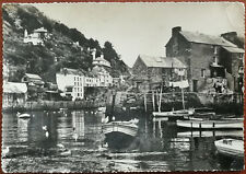 The Harbour, Polerro, Cornwall. Post Card