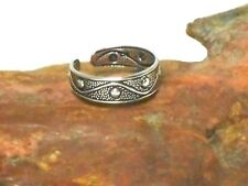 Adjustable  TOE  RING   Sterling  Silver   925  -  Gift  Boxed