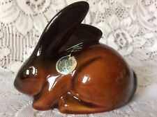 Vintage Glazed Pottery Rabbit - Dumler and Breiden?