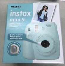 Fujifilm Instax Mini 9 Instant Camera - Ice Blue (Brand New In Box)