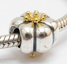 PUMPKIN QUEEN CHARM Bead Sterling Silver.925 For European Bracelet 874