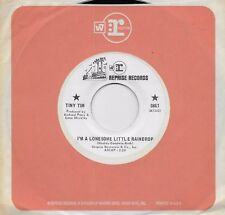 TINY TIM I'm A Lonesome Little Raindrop / What the World Needs Now rare promo 45