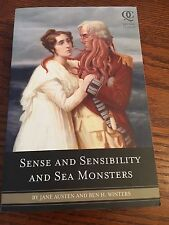 Sense and Sensibility and Sea Monsters Book  by Jane Austen Ben Winters~Quirk