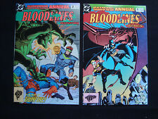 Bloodlines Dc Annuals lot 8 Vf/Nm Condition