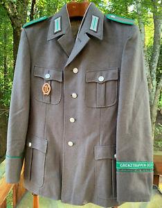 1987 East German Border Guard Grenztruppen Sz sg48-1 Enlisted Jacket DDR Stasi