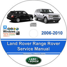 Land Rover Range Rover 2006 2007 2008 2009 2010 Factory Service Repair Manual