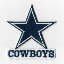 Dallas Cowboys Iron on Patches Embroidered Badge Patch Applique Word Sew FN