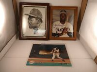Tony Gwynn San Diego Padres Lot Of 3 Photos Autographed HOF  MLB