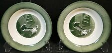 "Royal China Colonial Homestead Soup Bowls 8 3/8"" Baby's Cradle Set of 2"