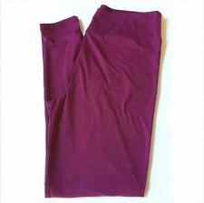 L/XL Lularoe Kids Leggings Solid Purple Berry NWT 564046
