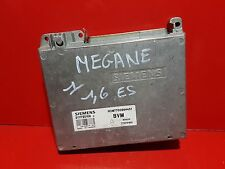 RENAULT MEGANE 1.6 CALCULATEUR MOTEUR ECU HOM7700864451 7700101920 S111730108C