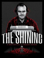 The Shining Movie Poster Art Print Tracie Ching Jack Nicholson Stanley Kubrick