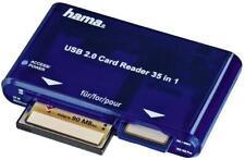 Hama Kartenleser USB 2.0 - 35-in-1 (Kartenlesegerät, Card Reader SD/SDHC/SDXC