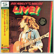 BOB MARLEY & THE WAILERS, LIVE ! , NUMB SHM-CD, JAPAN 2010, UICY-94590 (SEALED)