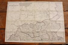 Poland Warszawa East Prussia map, Russia Ilyin pre-1917