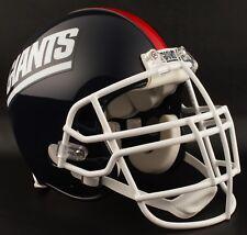 "NEW YORK GIANTS ***MINI*** Football Helmet Nameplate ""GIANTS"" Decal/Sticker"