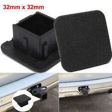 """Rubber Car Kittings 1-1/4"""" Black Trailer Hitch Receiver Cover Cap Plug Accessory"""
