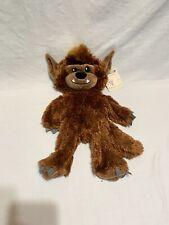 New ListingBuild A Bear Howl-O-Ween Werewolf Halloween Stuffed Animal Plush~Nwt