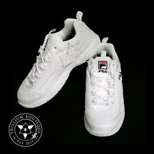 Fila Women's White Disarray Athletic Style Casual Shoes Size: 7 New in Box!!