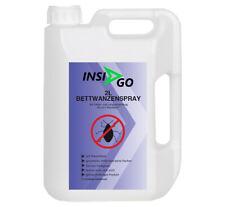 INSIGO 2L Bettwanzenspray  Anti-Bettwanzenmittel Schutz vor Bettwanzen Wanzen