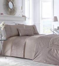 Portfolio Lavelle Crinkle Shimmer Bedspread 200 X230 Cm Indigo CHEAPEST on EBAY