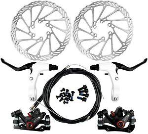 Fahrrad Scheibenbremse Set mechanische Scheibe vorne&hinten MTB Bremsscheibe