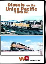 DIESELS ON THE UNION PACIFIC 2 DISC SET CENTENNIALS SD40-2 U30C NEW WB VIDEO