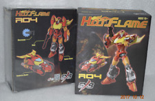 New Transformers SXS Toy R-04 Hot Flame IDW Hot Rod Figure In Stock