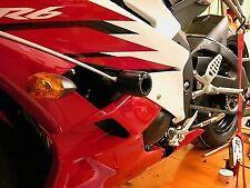 R&G RACING Crash Protectors - Yamaha YZF-R6 2006-  *BLACK*