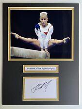 More details for gymnastics shannon miller signed 16