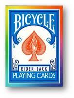 Rainbow Deck - Bicycle by DiFatta Poker Spielkarten
