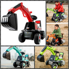 Kids Excavator Digger Truck Ride On Play Toy Construction Vehicle Christmas Gift
