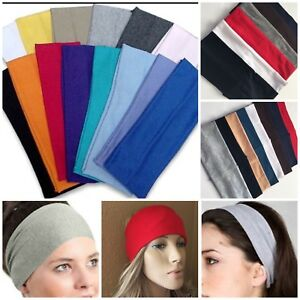6-12 Ear Warmer Wide Headband Winter Ears Warm Stretch Ski Gym Men Women LOT