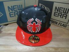 Amazing Spider-Man Peter Parker Marvel Comics New Era 5950 Fitted Hat 7 1/8 BX13