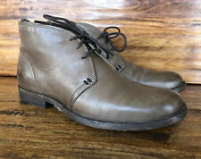 Womens Frye Chukka Boots Brown Leather Size 8.5 B