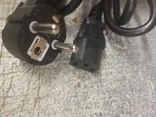Euro IEC PLUG power cord brand new