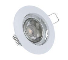 LED Einbaustrahler Weiß Alu-Druckguss GU10 MR16 Rahmen Einbauleuchte 2854