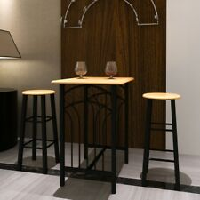 High Bar Breakfast Dinner Dining Table And Chairs Kitchen Modern Room Pub Set