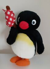 Vintage 1991 Pingu Plush Soft Toy BBC Penguin Stuffed Animal VGC