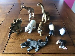 Schelich Animal & Dinosaur Bundle Of 9 - Some With Original Tags!