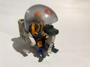 "GI Joe 3 3/4"" Vehicle - Cobra Flight Pod 'Trubble Bubble' 1985 - INCOMPLETE"